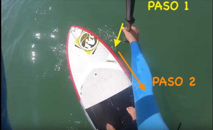 Técnica Standup paddle